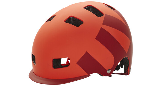 UVEX hlmt 5 bike pro Helm red mat